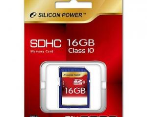 Silicon Power Full HD Video Card 16GB SDHC Class10