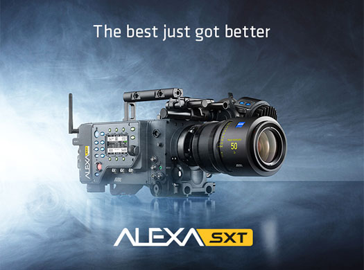 ARRI announces new ALEXA SXT cameras